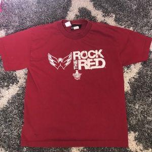 Washington Capitals ROCK THE RED T-shirt